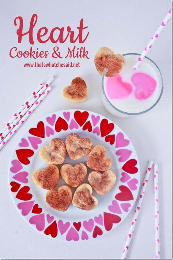 Heart Milk and Cookies at thatswhatchesaid.net