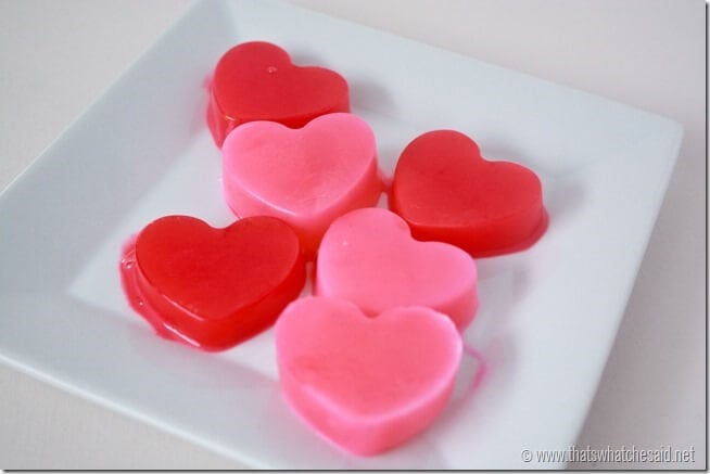 Heart Milk Ice Cubes from thatswhatchesaid.net