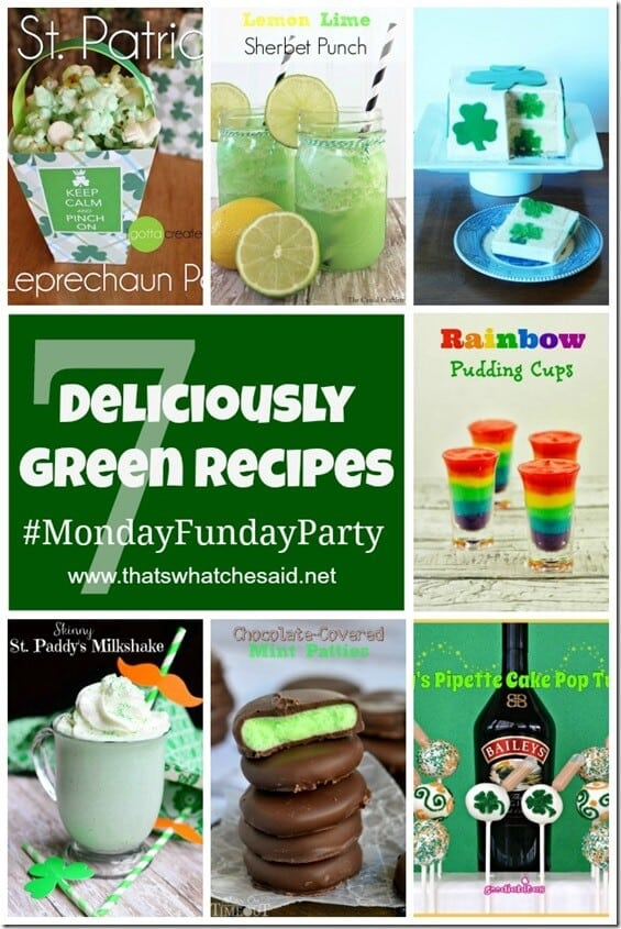 7 Deliciously Green Recipes at thatswhatchesaid.net