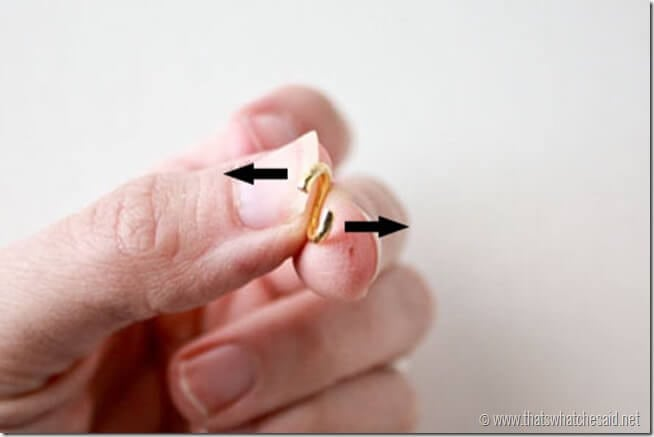 Correct Way to Open a Jump Ring