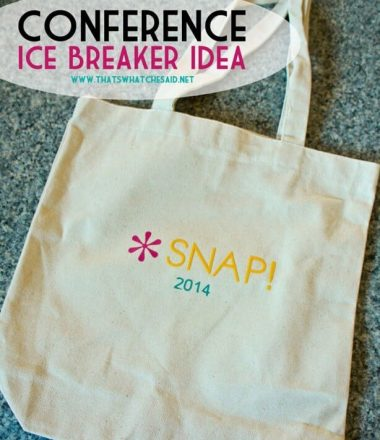 Blog-Conference-Ice-Breaker-Idea-at-thatswhatchesaid.net