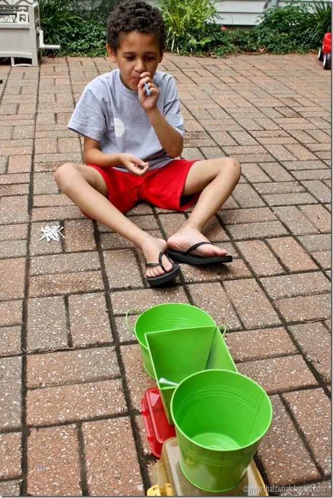 Q-Tip Dart Activity Game