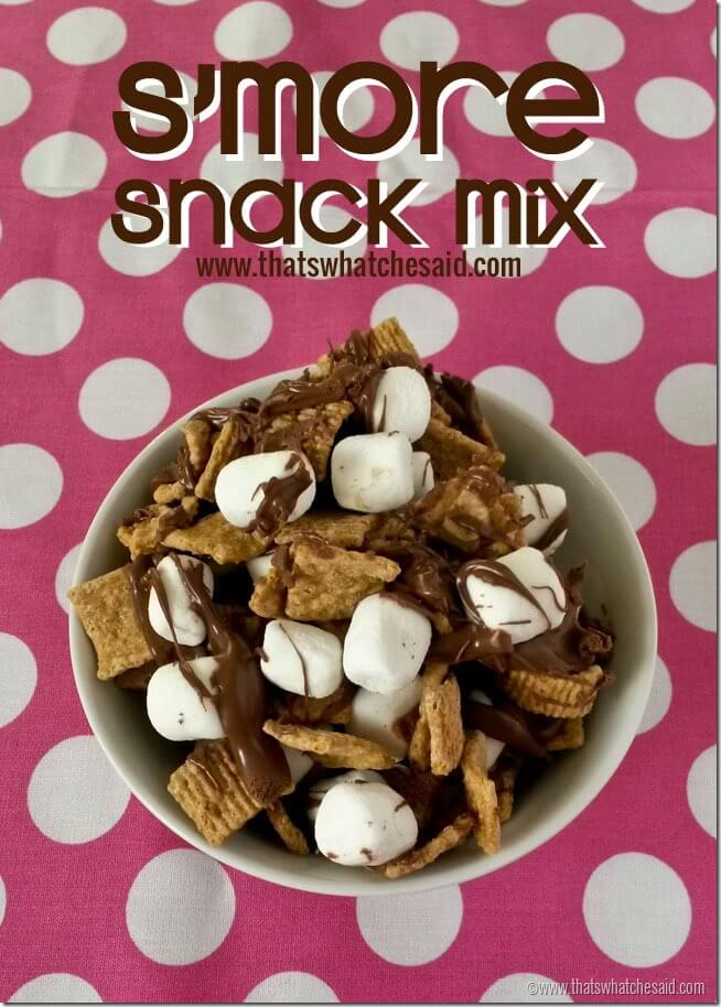 S'Mores Snack Mix Recipe at thatswhatchesaid.net
