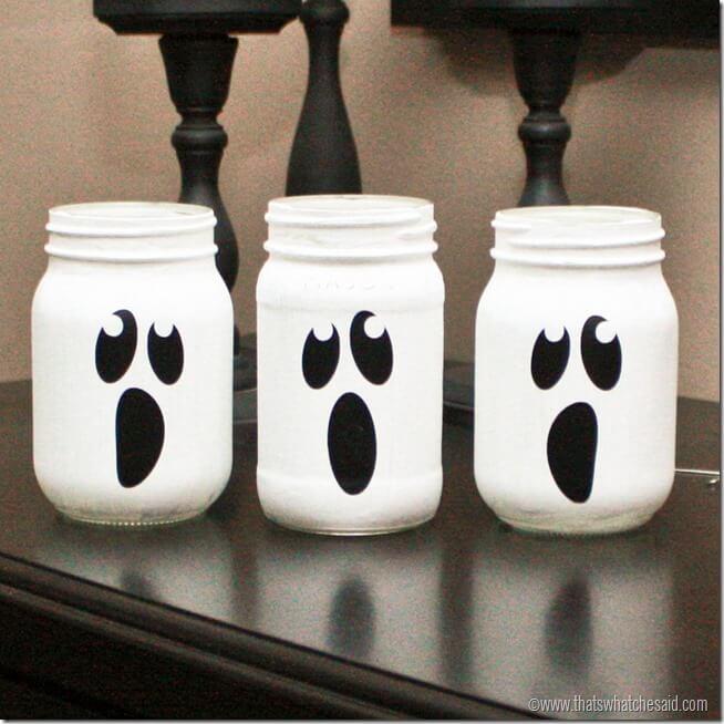 Ghost Mason Jars1