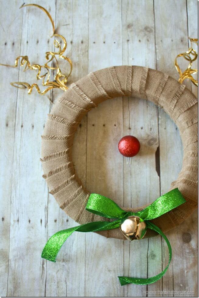 Reindeer Wreath 8