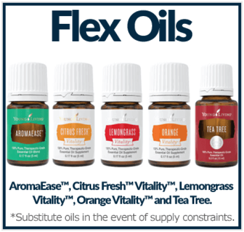 Flex Oil Options from Premium Starter Kit