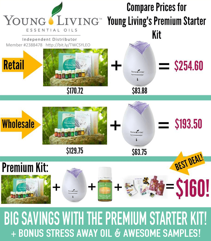 Compare Prices with Young Living Premium Starter Kit at thatswhatchesaid.com