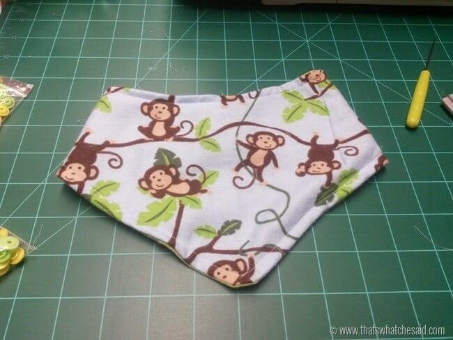 Baby Gift Idea - Bandana Drool Bib