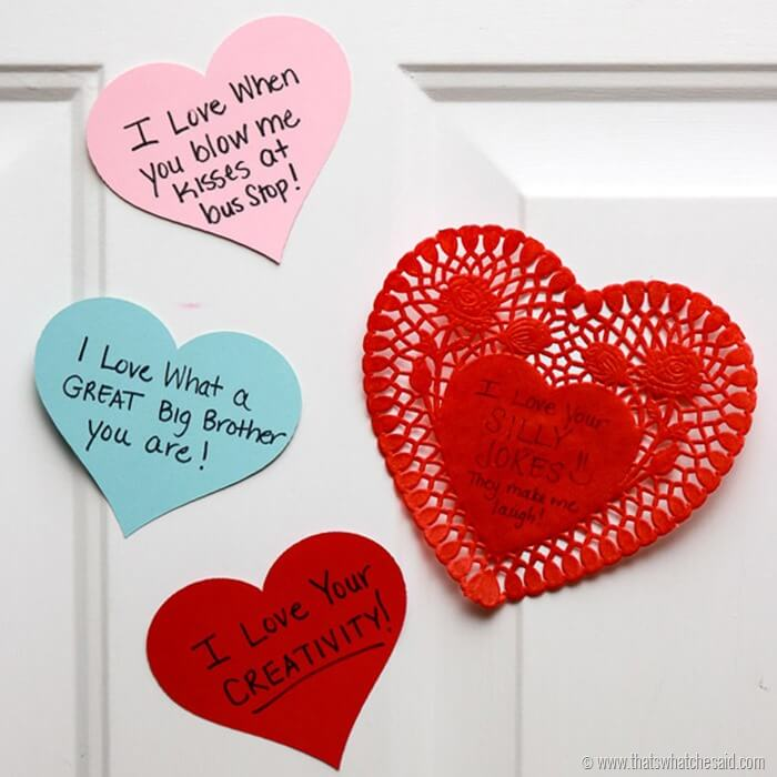 Heart Attack Door Decor Ideas at www.thatswhatchesaid.com