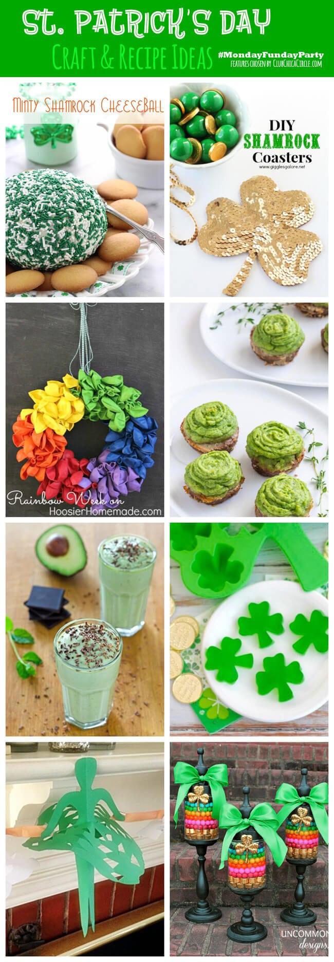 8 St. Patricks Day Crafts & Recipes