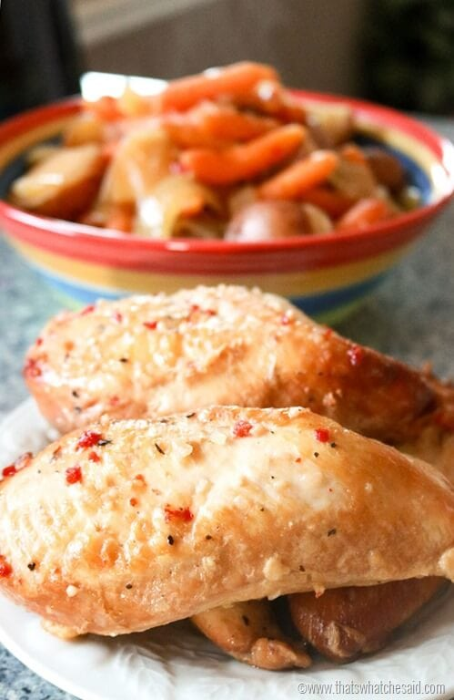 The Best Slow Cooker Chicken Recipe Ever!