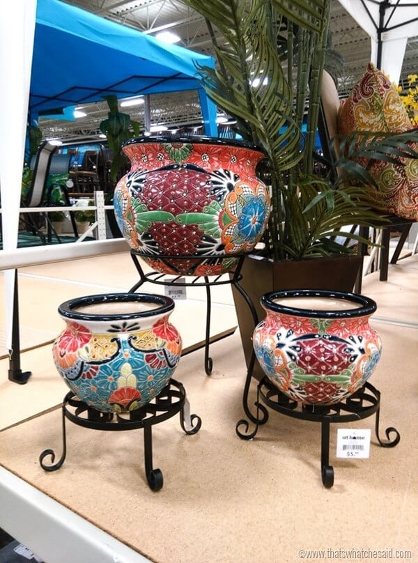 Accessories for completing you outdoor space