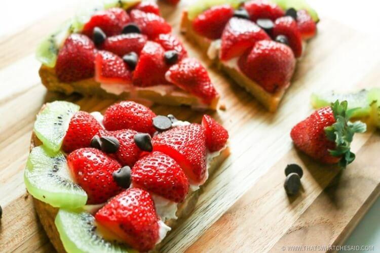 Enjoy Summer with a fun watermelon fruit pizza!