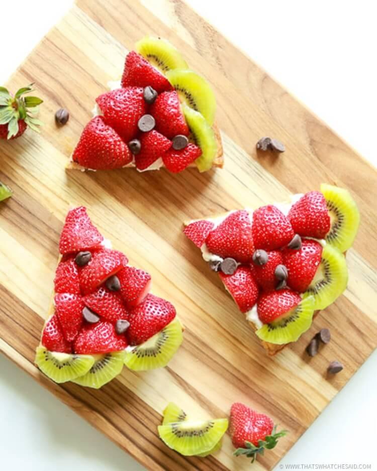 Easy Watermelon Fruit Pizza Recipe!