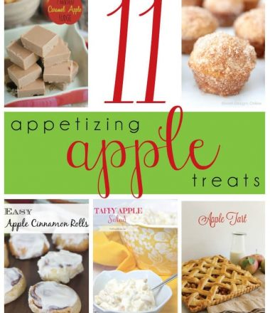 Apple Treats Monday Funday Link Party