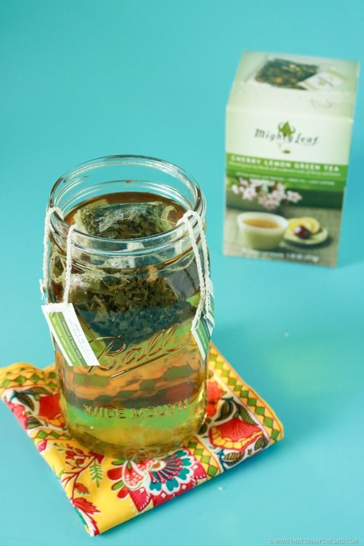 Brew your Green Tea - Kentucky Cousin Cocktail