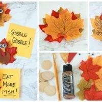 Thanksgiving Turkey Magnet Craft