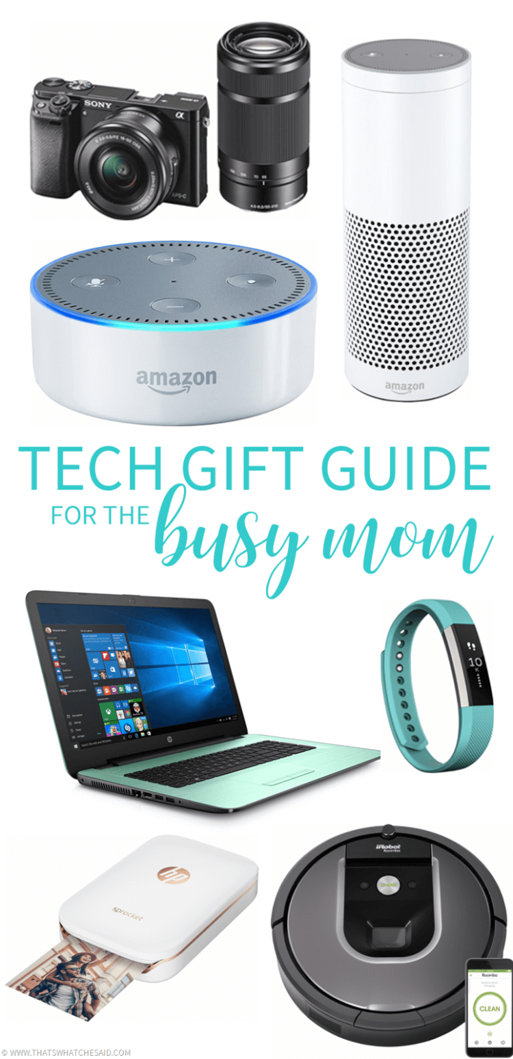 Hot New Gadgets - Tech Gift Guide for the Busy Mom
