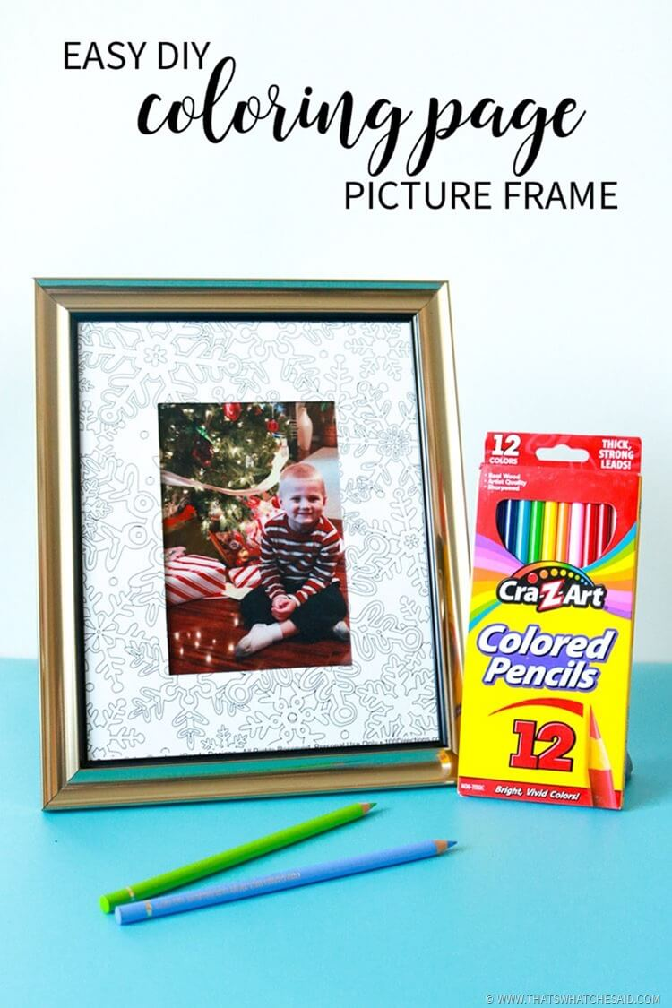 Diy Coloring Page Frame That S What Said