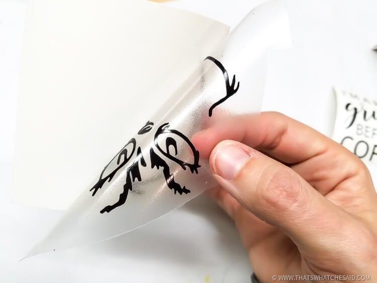 Easiest Way to apply Craft Vinyl