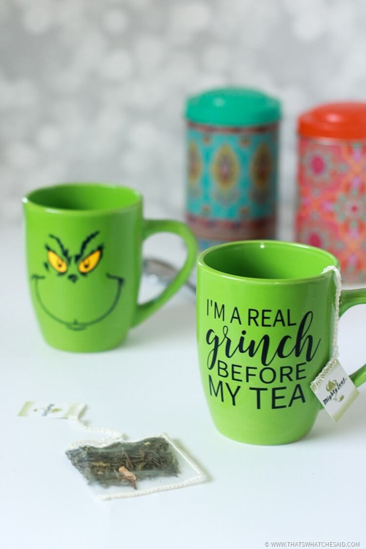 Grinch Tea Mug