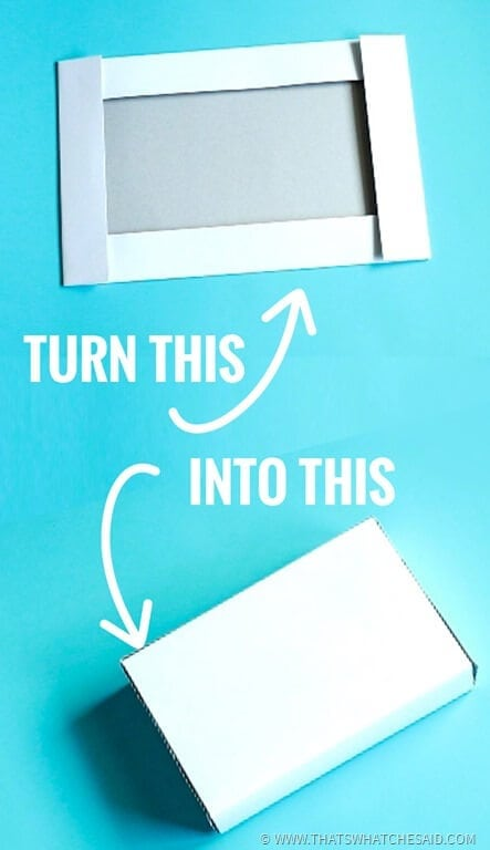 Turn a box Half into a smaller box!