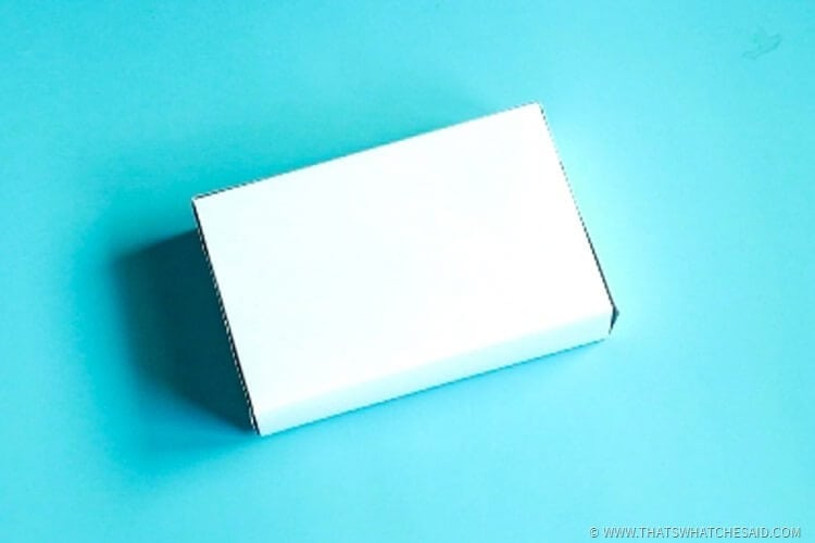 Upcyle a Lone Half of a Shirt Box-9