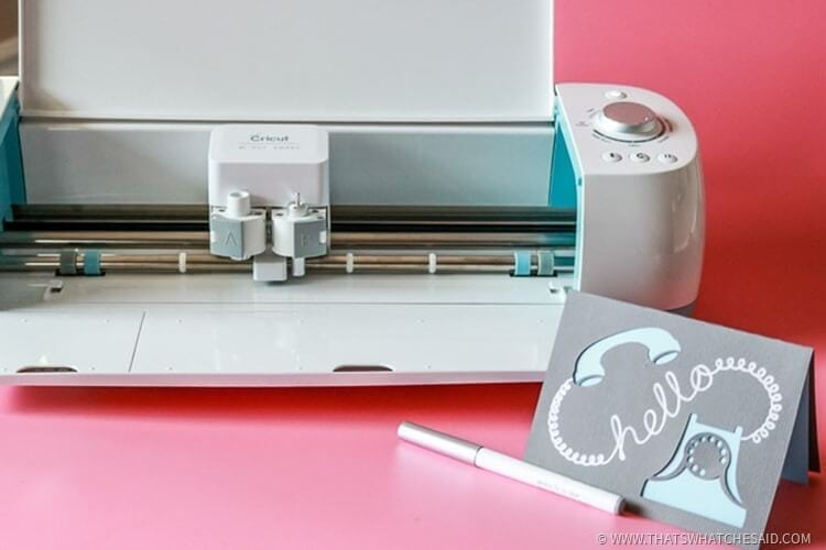 What you need with a Cricut Explore