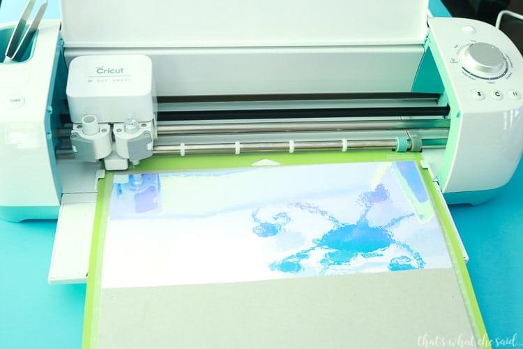Cutting Holographic Vinyl with Cricut Explore