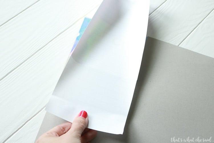 Ways to use Holographic Vinyl