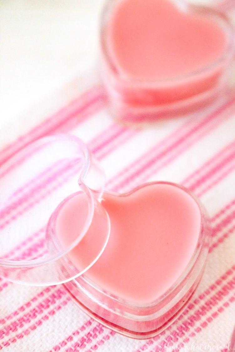 Valentine Strawberry Lip Gloss