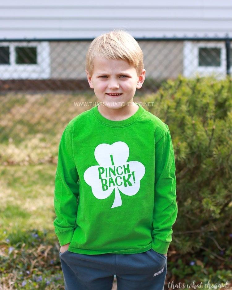 Easy St. Patrick's Day Shirt Idea