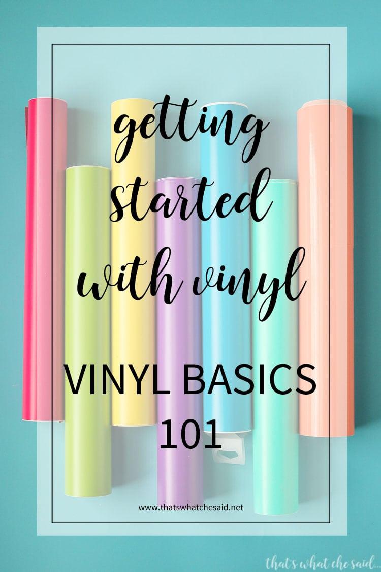 Vinyl Basics - Getting Started with Vinyl 101