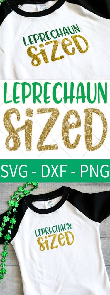 SVG File to make a cute St. Patrick's day Shirt for a child!