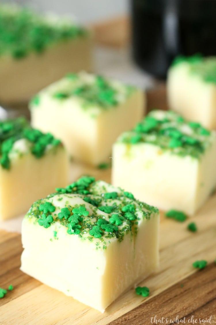 How to Make Irish Cream Fudge