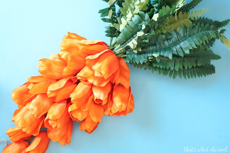 Tulip Flowers for Fun Easter Wreath