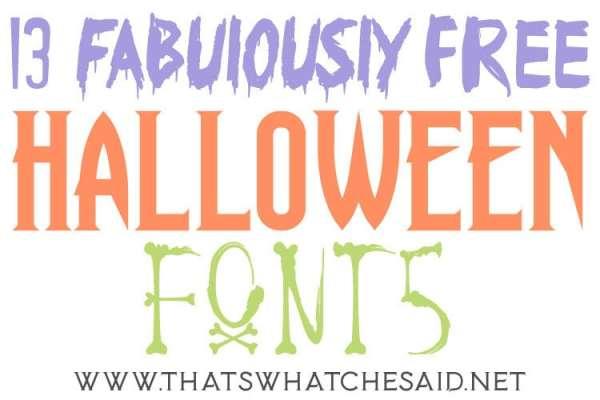 free halloween fonts # 52