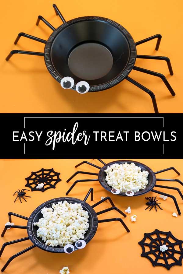 Halloween Spider Treat Bowl