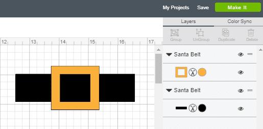 Ungroup, Resize, Duplicate in Cricut Design Space
