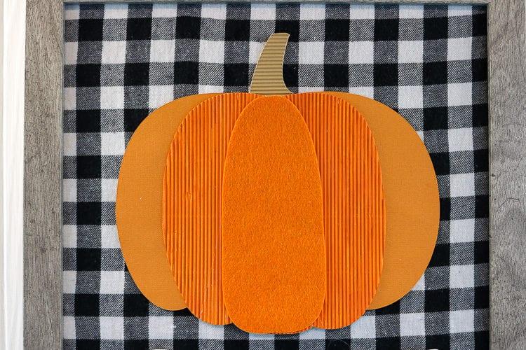 Fall Decor - Pumpkin Sign