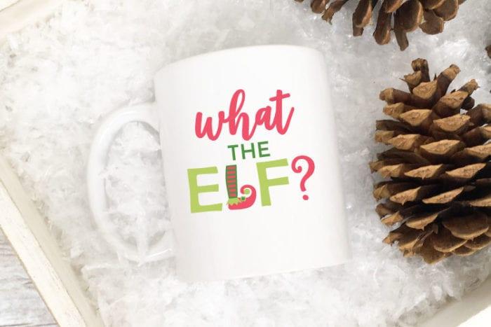 Christmas Mug Idea for the Sarcastic one on your gift list!