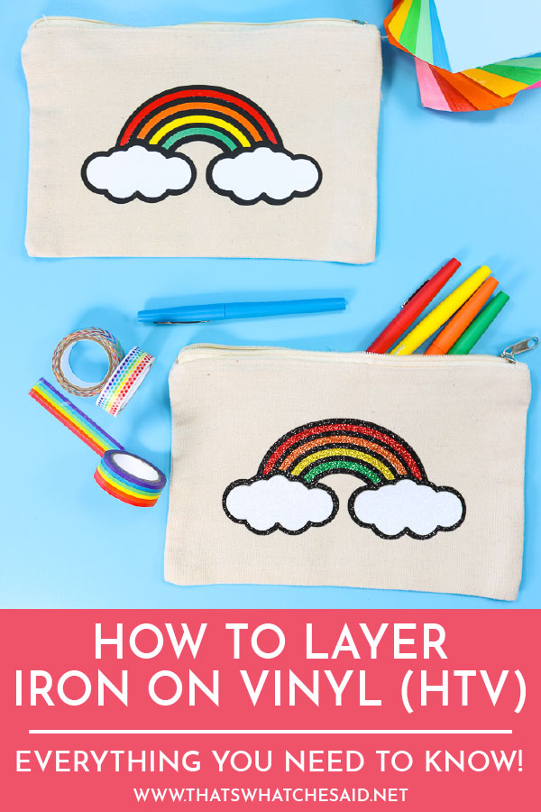 Correctly Layer different types of Iron on for lasting results. Get all the tips, tricks and how-tos!