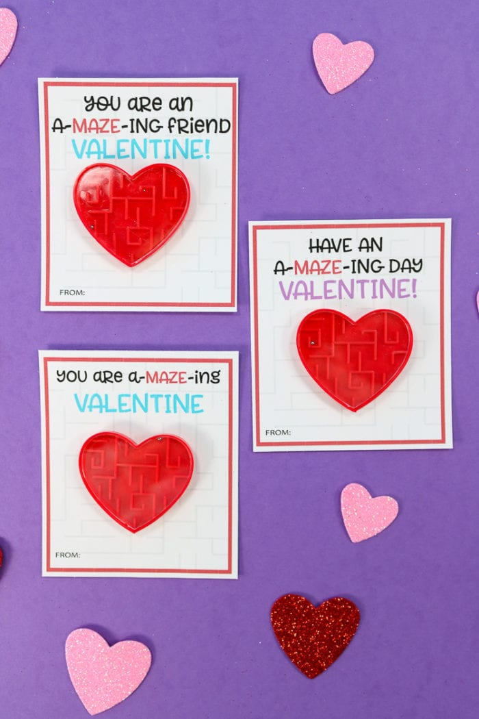 Completed Valentine's Day Cards