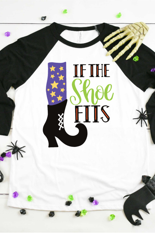 If the Shoe Fits Witch Halloween T-shirt