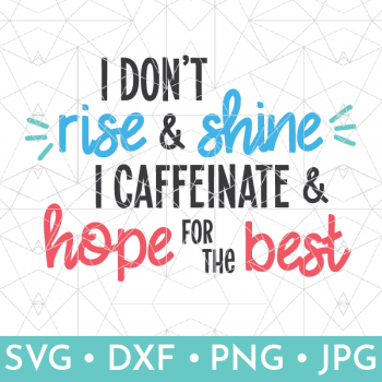 Vector depiction of coffee svg available in shop