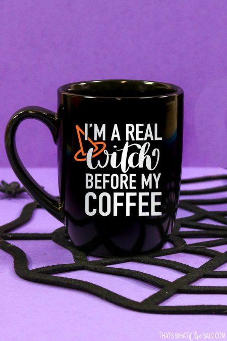 Witch Before Coffee & Tea Mug SVG