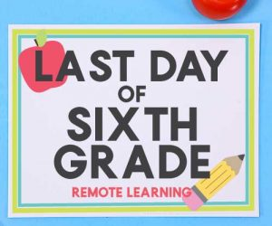 Last Day of School - Remote Learning