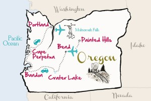Travel-Oregon-Map