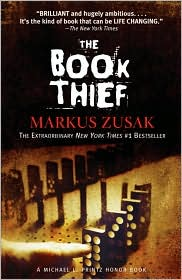 The Book Thief by Markus Zusak Book Cover