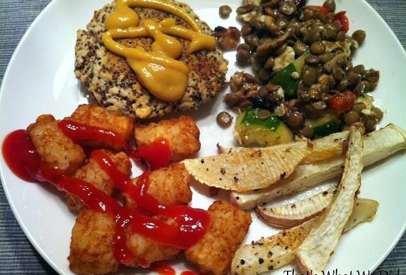 Gluten Free Quinoa Salmon Burgers